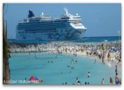 NCL Pearl at Great Stirrup Cay