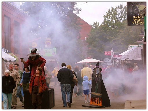 Halloween Events in Salem, MA
