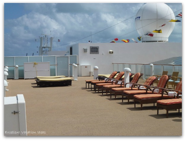 Sundeck on the Haven on the NCL Pearl