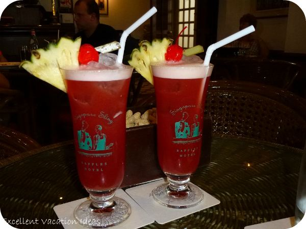 Enjoy a Singapore Sling at the Raffles Hotel in Singapore