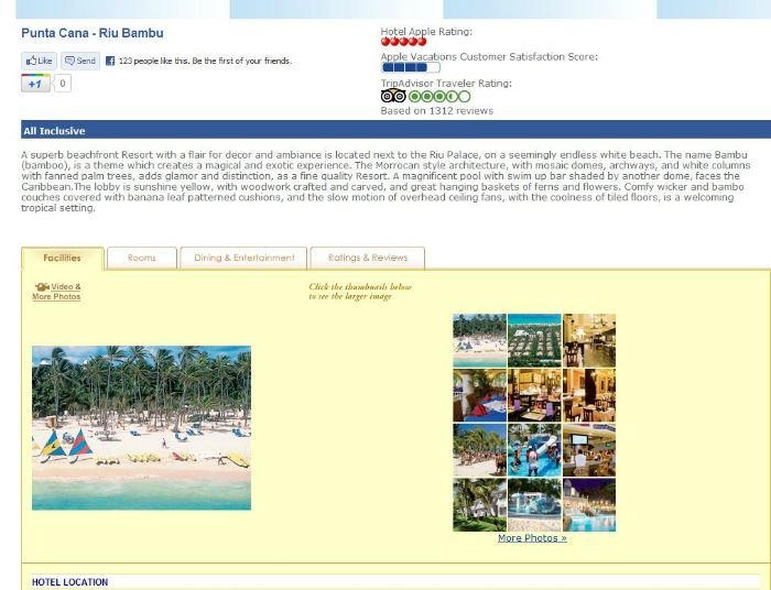 Apple Vacations All Inclusive
