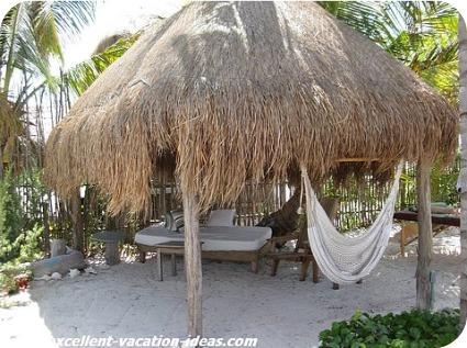 Costa Maya Tours Beach Hut at Maya Chan