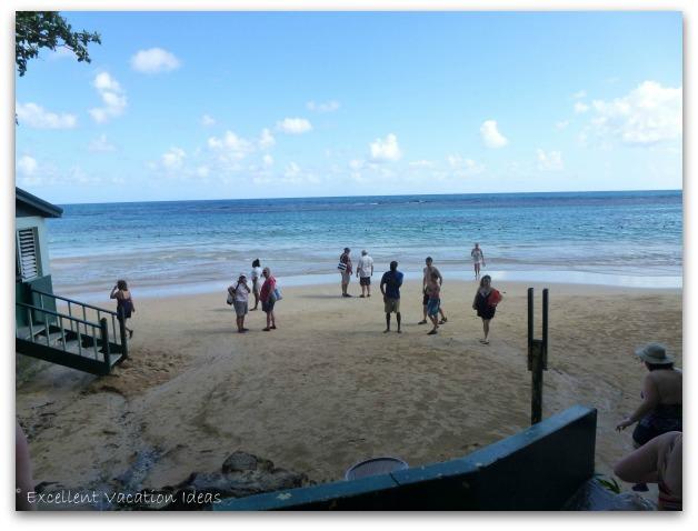 Dunns River Falls Jamaica Beach
