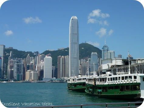 Facts about Hong Kong - Victoria Harbour and Star Ferry