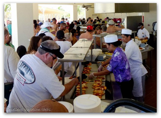 Great Stirrup Cay Food Options