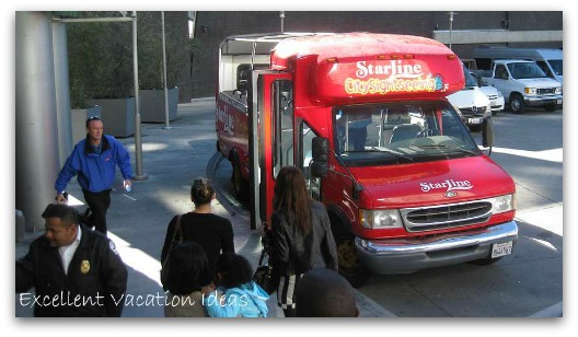 Hollywood and Highland Tours Bus