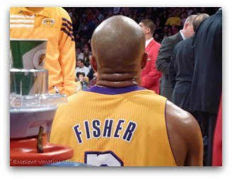 Lakers Game Fisher