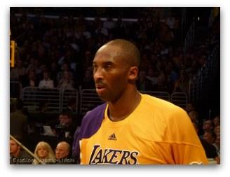 Lakers Game Kobe Bryant