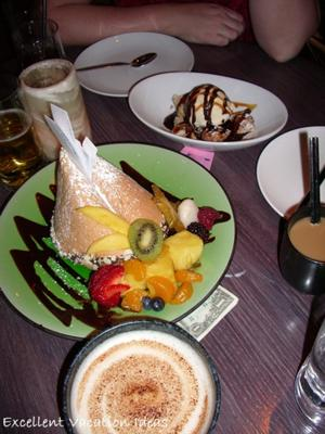 Tao restaurant photo of the giant Fortune cookie in our Las Vegas Restaurant Guide