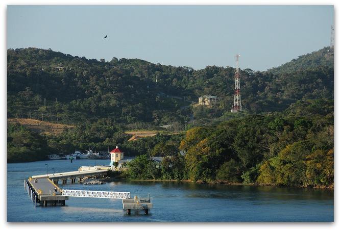 Leaving Mahogany Bay