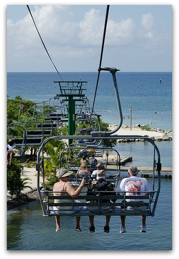 Chair Lift at Mahogany Bay