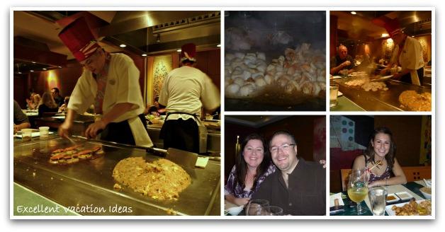 Norwegian Pearl Restaurants - Tempanyaki