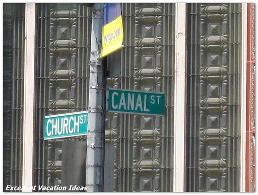 NYC Neighborhoods Canal Street