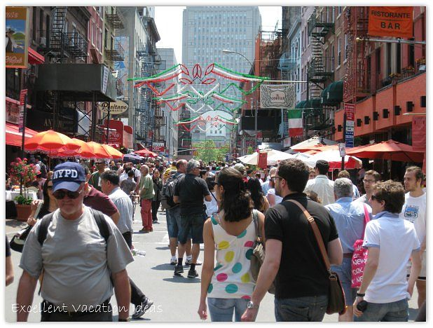 NYC Neighborhood Little Italy
