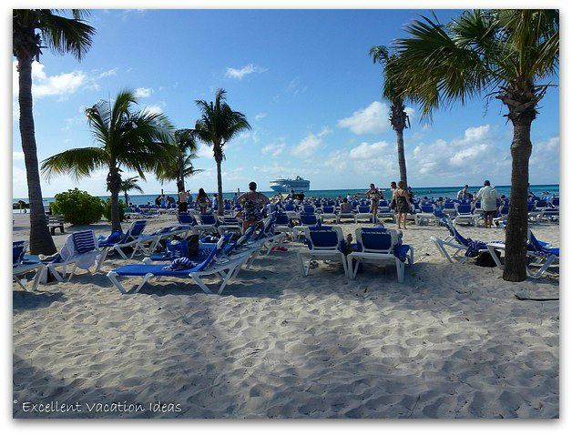 Princess Cays Beach Chairs