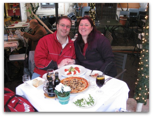 Romantic Travel Destination - Us in Rome at Christmas