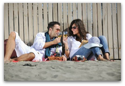 Romantic Vacations as the Beach Together