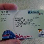 Hong Kong Airport Express Ticket