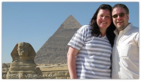 A romantic trip to Egypt to visit the Great Pyramids