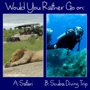 Would Your Rather Go on a Safari or Scuba trip
