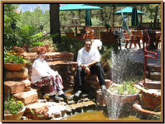 Chefs at lodge at sedona