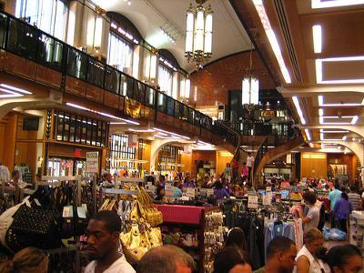 Shopping at Century 21