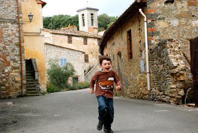 Enjoying the Streets of Tuscany Italy
