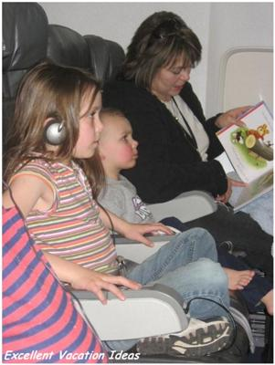 Tips for Air travel with children
