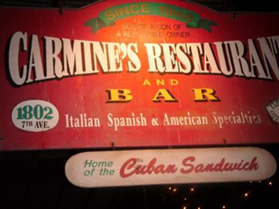 Carmines Restaurant