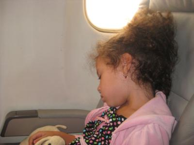 Successful First Plane Ride
