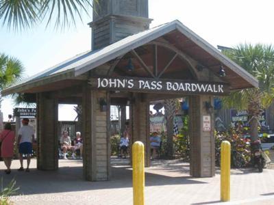 Johns Pass Boardwalk Entrance