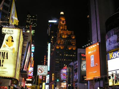 Night Time at Times Square