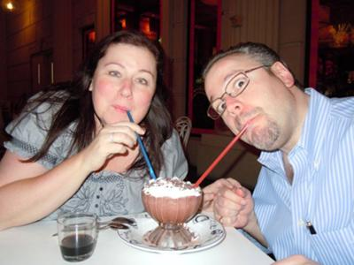Yummy Frozen Hot Chocolate - the Serendipity 3 Specialty